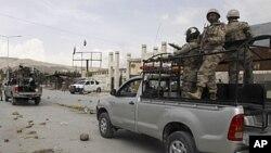 بلوچستان میں امن و امان برقرار رکھنے کی بنیادی ذمہ داری فرنٹیئر کور کے ہاتھ میں ہے۔