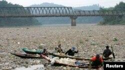 Sungai Citarum masuk dalam daftar 10 tempat paling tercemar di dunia tahun ini. (Foto: Dok)