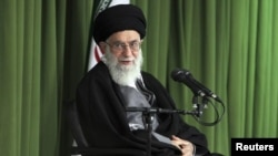 伊朗最高領導人哈梅內伊 (資料照片)