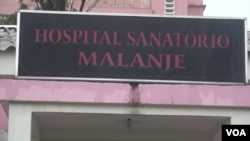Angola Malanje Hospital Sanatório