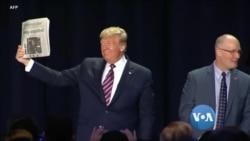 သမၼတ Donald Trump လူထုစစ္တမ္းနဲ႔ မဲဆြယ္ပြဲအလားအလာ