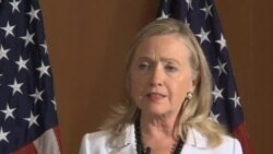 克林顿:美国将阻止伊朗获得核武器
