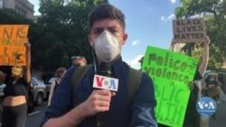 Як змінилася атмосфера на протестах у столиці США цими вихідними. Відео