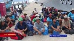 Ngư dân Việt bị Indonesia bắt giữ kêu cứu