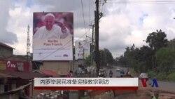 内罗毕居民准备迎接教宗到访