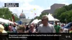Defiant Crowd Packs Annual DC Pride Festival