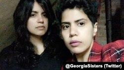 Сестры Маха и Вафа аль-Субайе ищут убежища в Грузии