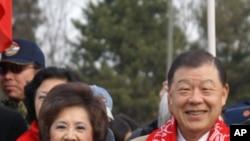 台湾驻美代表袁健生和夫人