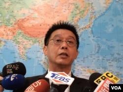 台湾民进党立委许智杰 (美国之音记者申华)