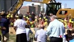 以波士頓馬拉松爆炸案8歲遇難者命名的兒童公園破土動工