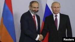 Pashinyan û Putin