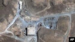 Ядерный реактор в Сирии. Снимок со спутника.