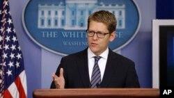 제이 카니 백악관 대변인 (자료사진)