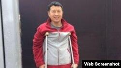 中国维权律师代表人物之一唐吉田。 (网络图片)