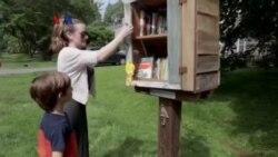 'Little Free Libraries' Akses Buku Gratis bagi Warga