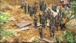 Con số người tử vong vì lở đất ở Sri Lanka gia tăng