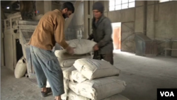 افغان چارواکي وایي که د هرات د سمنټو فابریکه به د ورځې ۱۶۰۰ ټنه سیمنټ تولید کړي