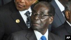 Robert Mugabe, président du Zimbabwe