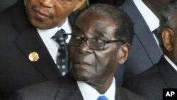 Le président zimbabwéen, Robert Mugabe