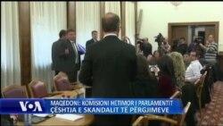 Skandali i përgjimeve në Maqedoni