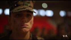Maria Daume, New Female Marine Infantry Member