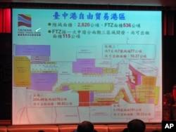 与大陆贸易量最大的台中港简表