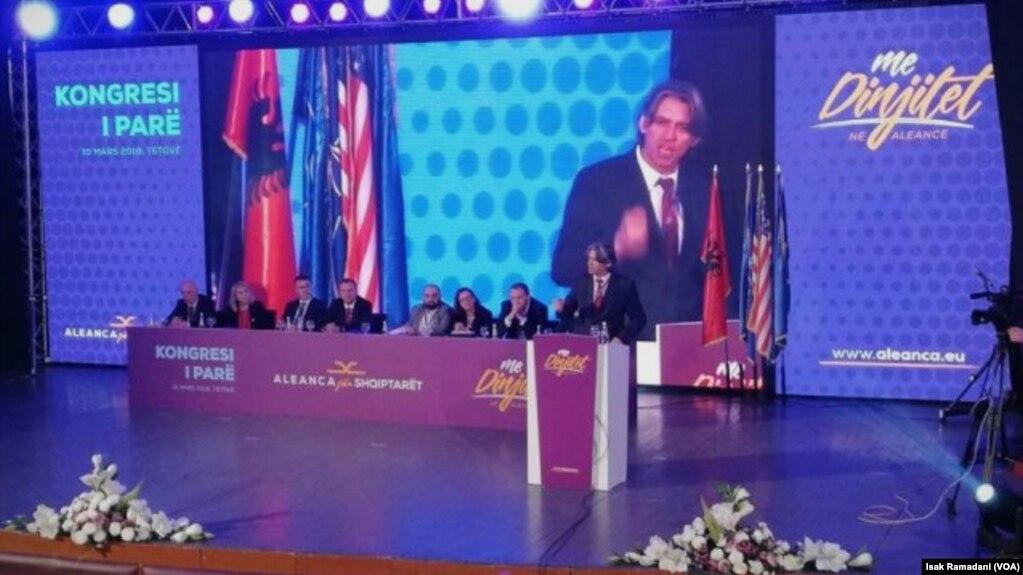 Maqedoni: Ziadin Sela rizgjidhet kryetar i Aleancës për Shqiptarët