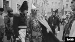 Олег Соколов в образе Наполеона