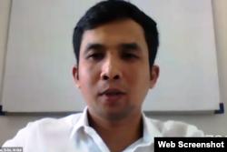 Dosen dan peneliti dari Fakultas Kedokteran Undip, Semarang, Nuryanto. (Foto: screenshot)