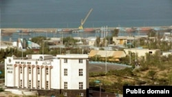FILE – The Chabahar port in Iran is shown. Pakistani authorities accuse a former Indian Navy officer living in Chabahar of being an Indian spy.
