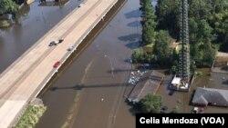 """Затоплені будинки в Г'юстоні після урагану """"Гарві"""""""