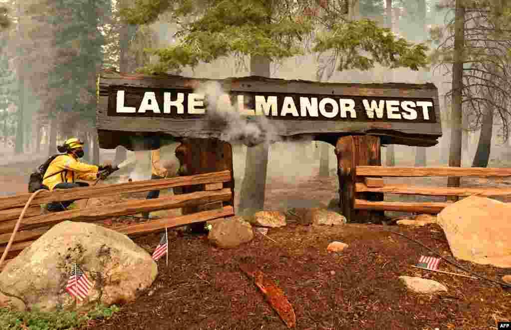 آگ کو ریاست کیلی فورنیا کی تاریخ کی سب سے بڑی آگ قرار دے دیا گیا ہے۔