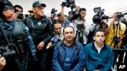 Samuel 'Sammy' Morales, hermano y consejero político del mandatario, y José Manuel Morales, el mayor de sus cuatro hijos, fueron acusados en enero de facilitar facturas falsas.