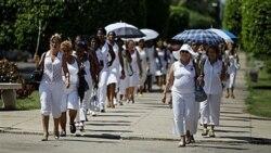 تظاهرات مدافعان حقوق بشر در خیابانهای هاوانا پایتخت کوبا