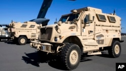 미군이 운용하는 지뢰방호장갑차