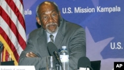 FILE: Former US Assistant Secretary of African Affairs Johnnie Carson (file photo)