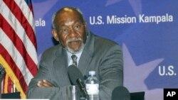 Trợ lý Ngoại trưởng Hoa Kỳ đặc trách các vấn đề châu Phi Johnnie Carson (hình lưu trữ)