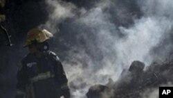 کشته شدن 42 تن در جریان آتش سوزی در اسراییل