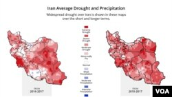 Iran Drought Through the Years