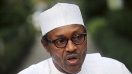 Nigeria  opposition leader Muhammadu Buhari, former Nigerian military ruler and presidential candidate for the Congress for Progressive Change (CPC) (file photo)