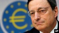 Mario Draghi hizo las declaraciones en una conferencia sobre inversión global en la capital británica.