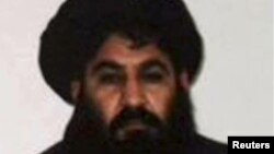 Shugaban Taliban Mullah Akhtar Mansoor,