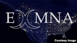 "Logo grupe ""Bivši muslimani Severne Amerike"""