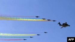 2009中国国庆展示战机