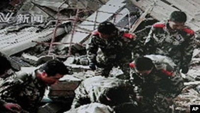 Asian quake death toll
