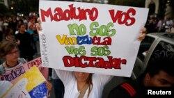 Las protestas antigubernamentales no han cesado en las calles de Venezuela desde el pasado 12 de febrero.