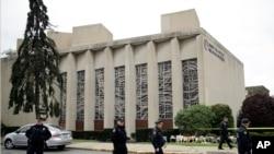 """Sinagoga """"Drvo života"""" u kojoj se desilo masovno ubistvo"""