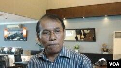 Kolumnis politik, Fachry Ali.