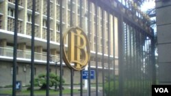 Kantor Bank Indonesia di Jakarta (Foto: VOA/dok).