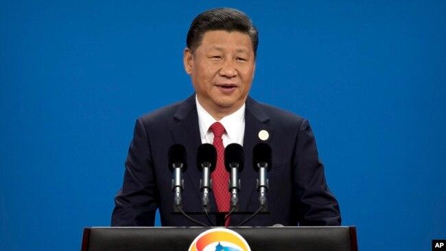Ông Tập Cận Bình phát biểu khai mạc diễn đàn kéo dài hai ngày ở Bắc Kinh hôm 14/5.